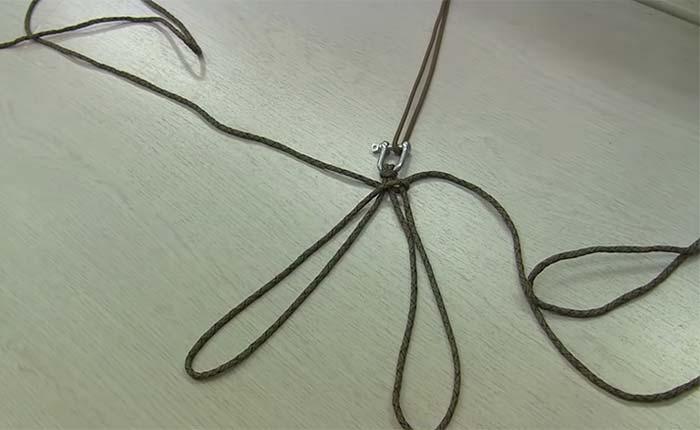 пошаговая инструкция плетения браслета из паракорда